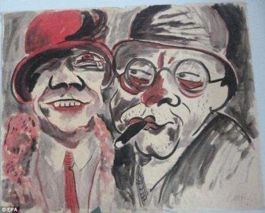 "Hans Cristoph's ""Couple"" (1924)"