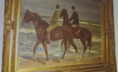 "Max Liebermann's ""Two Riders on a Beach"" (1901)"