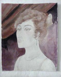"""Otto Dix's """"Dame in der Loge"""" (1922)"""